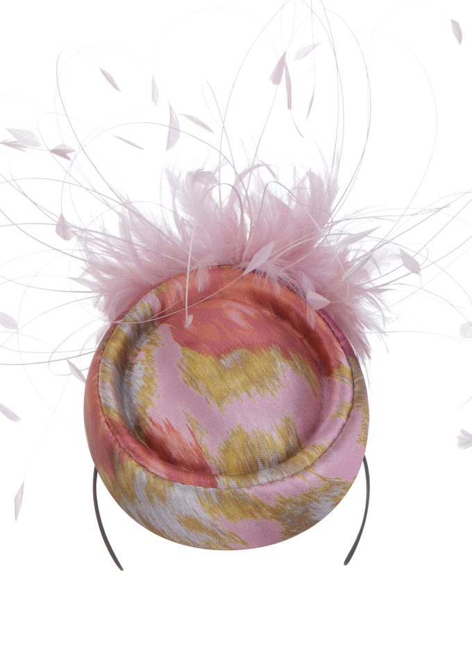 Mey-floral-pink-pillboxhat-emilylondon-hats-london