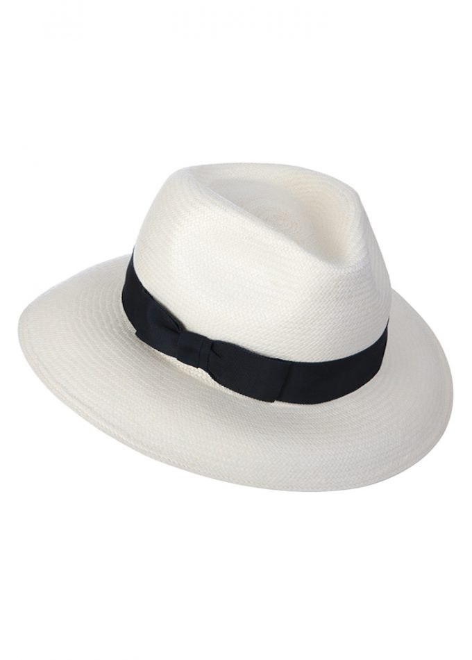 Bernache - white - black - panamahat- resortcollection- beachhat- emilylondon- hats- london