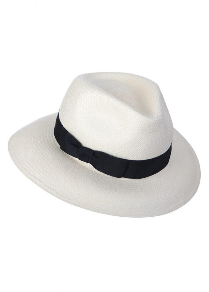 Bernache - white - black - panamahat- resortcollection- beachhat- emilylondon- hats- london