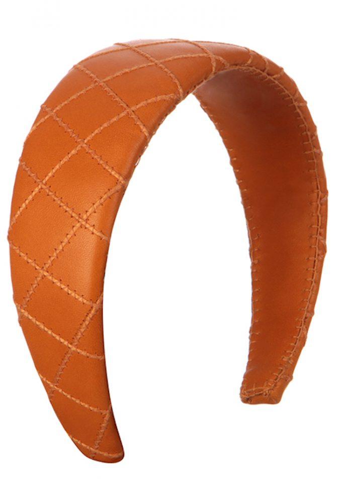 Forres-orange-headband-designerheadpiece-emilylondon-hats-london