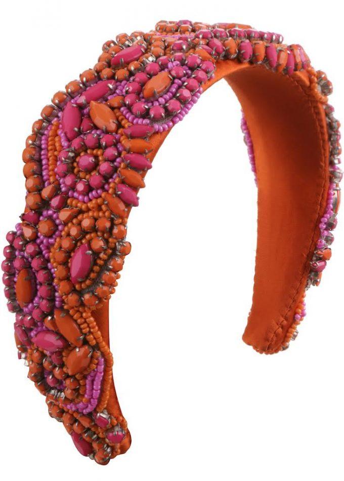 Grace-orange-pink-headband-headpieces-emilylondon-hats-london