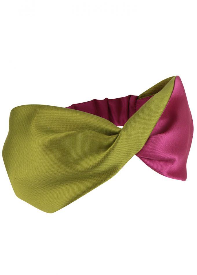 Guanaja-green-pink-headpieces-headwrap-emilylondon-hats-london