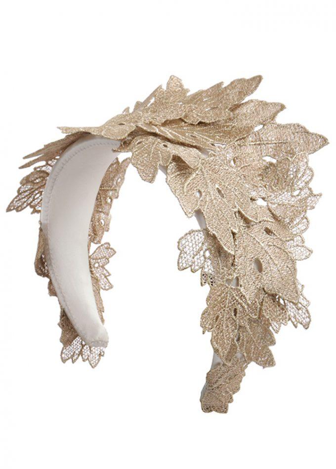 Icarus-ivory-gold-headband-bridepiece-emilylondon-hats-london
