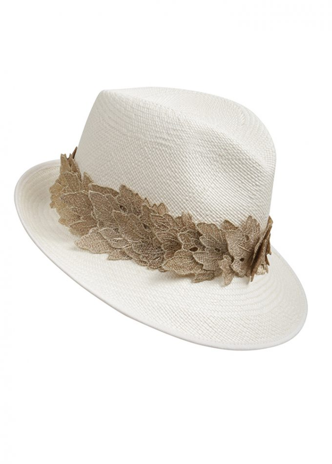 Ikaria-beige-gold-panama-hat-emilylondon-hats-london