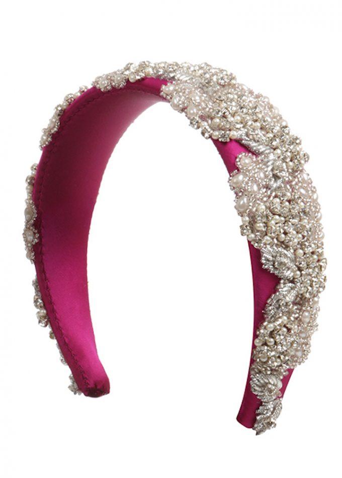 Kingsclere-magenta-pink-headband-emilylondon-hats-london