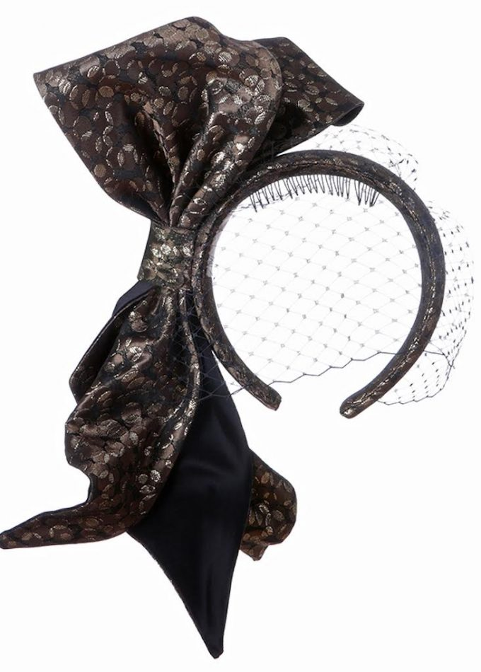 couture bow headband