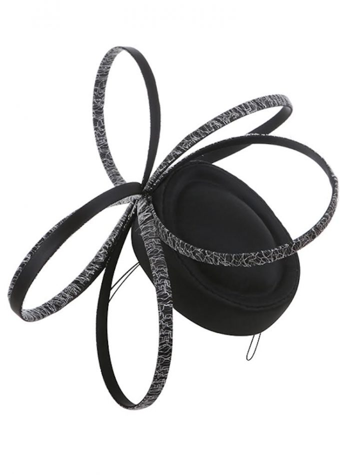 Killivose-black-pillboxhats-occasion-hats-fascinators-emilylondonmillinery-hats-london
