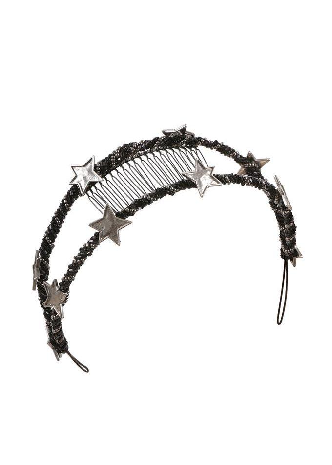 Nevis-black-headpieces-emilylondonmillinery-hats-london