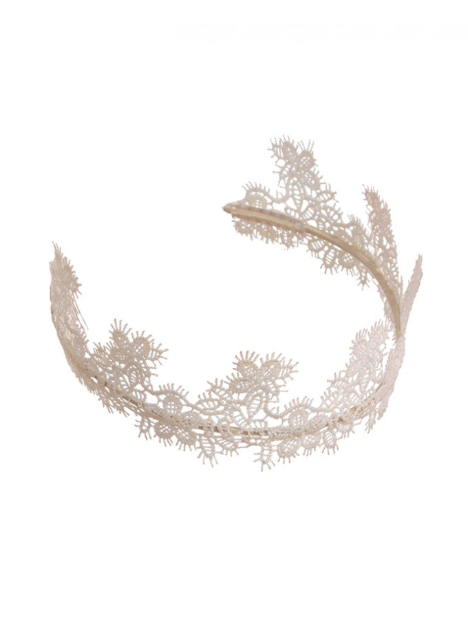 Blenheim Bridal crown headpiece
