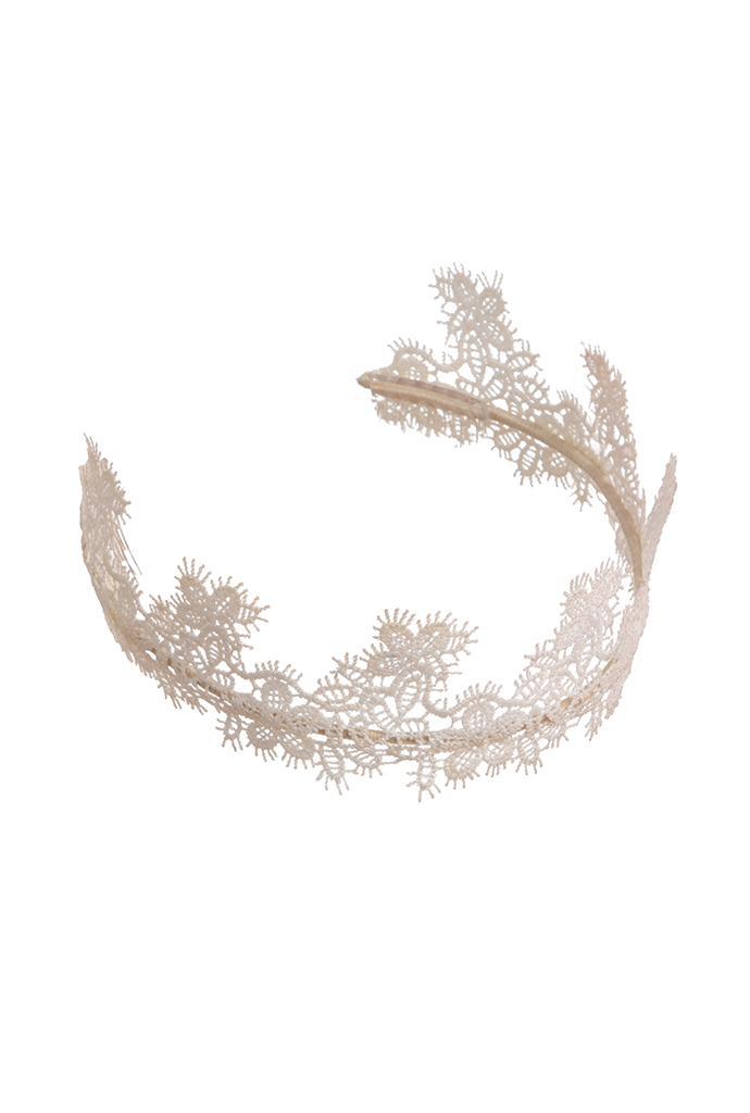Blenheim Bridal crown headpiece