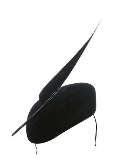 Newmarket pillbox hat