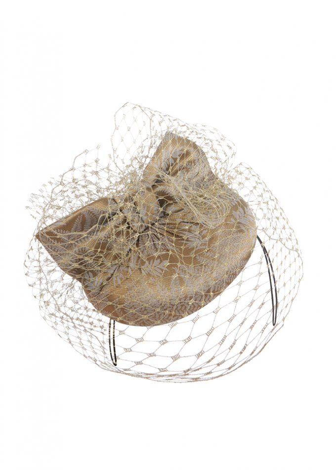 veiled pillbox hat