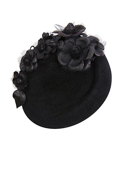 Agatha pillbox hat