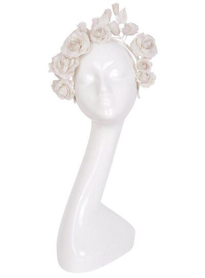 Livia headpiece