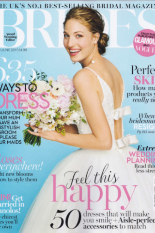 Brides Magazine May/June 2017
