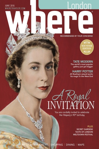 WHERE MAGAZINE LONDON – JUNE 2016