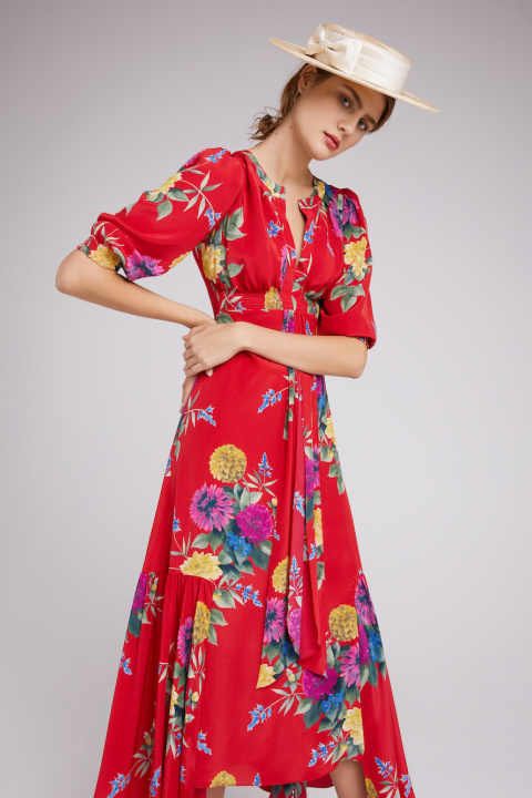 Suzannah Resort Dress - Murano Boater